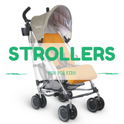 best STROLLERS for big kids